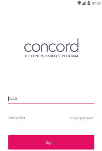 Application Concord